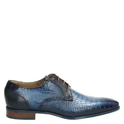Giorgio heren nette schoenen blauw