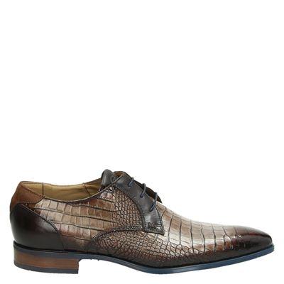 Giorgio heren nette schoenen taupe