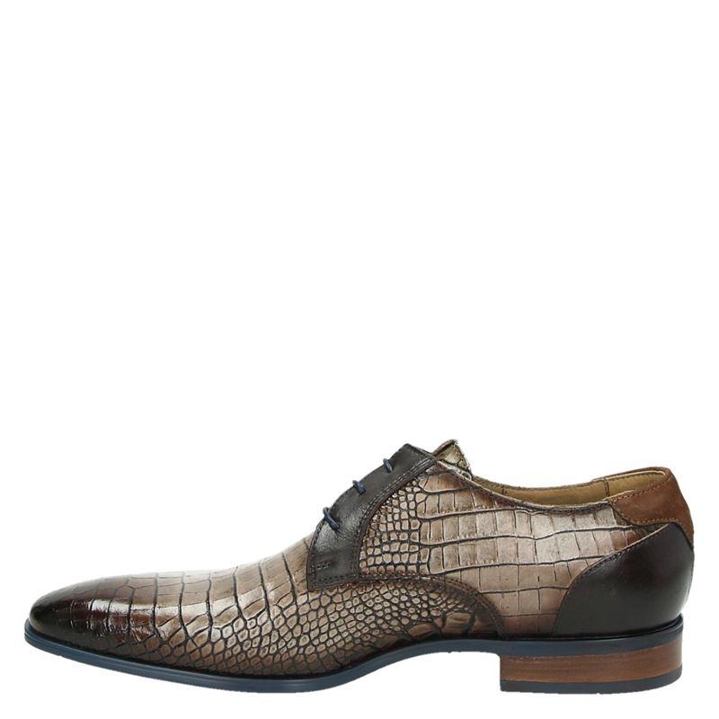 Giorgio - Lage nette schoenen - Taupe