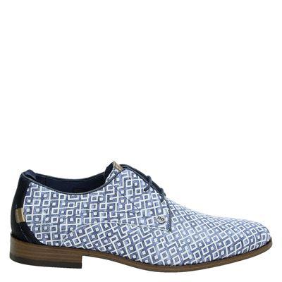 Rehab heren lage nette schoenen blauw
