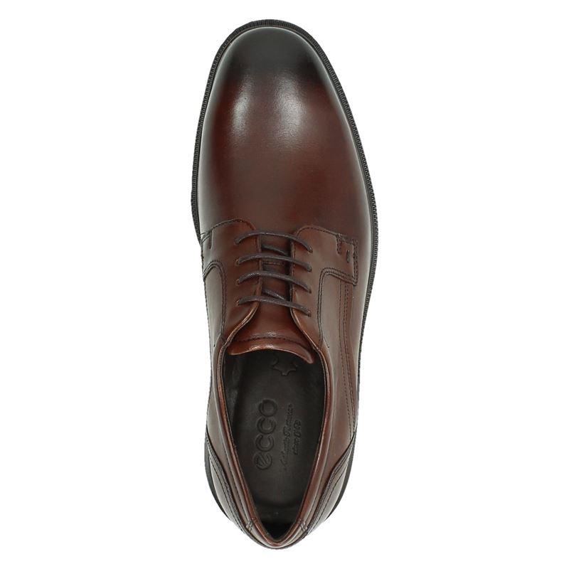 Ecco Lisbon - Lage nette schoenen - Cognac