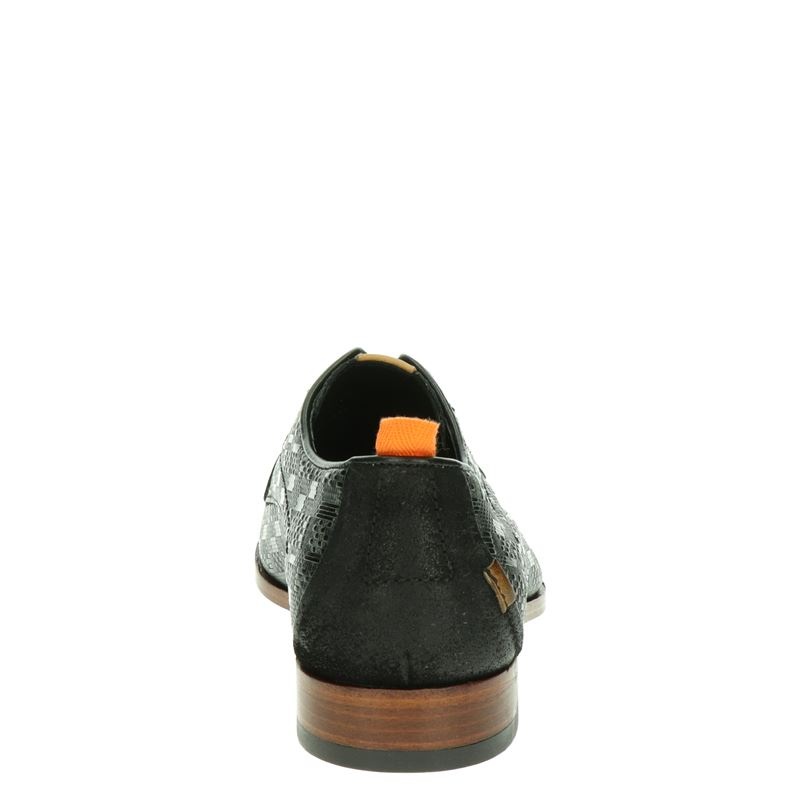 Rehab Greg Tetris - Lage nette schoenen - Zwart