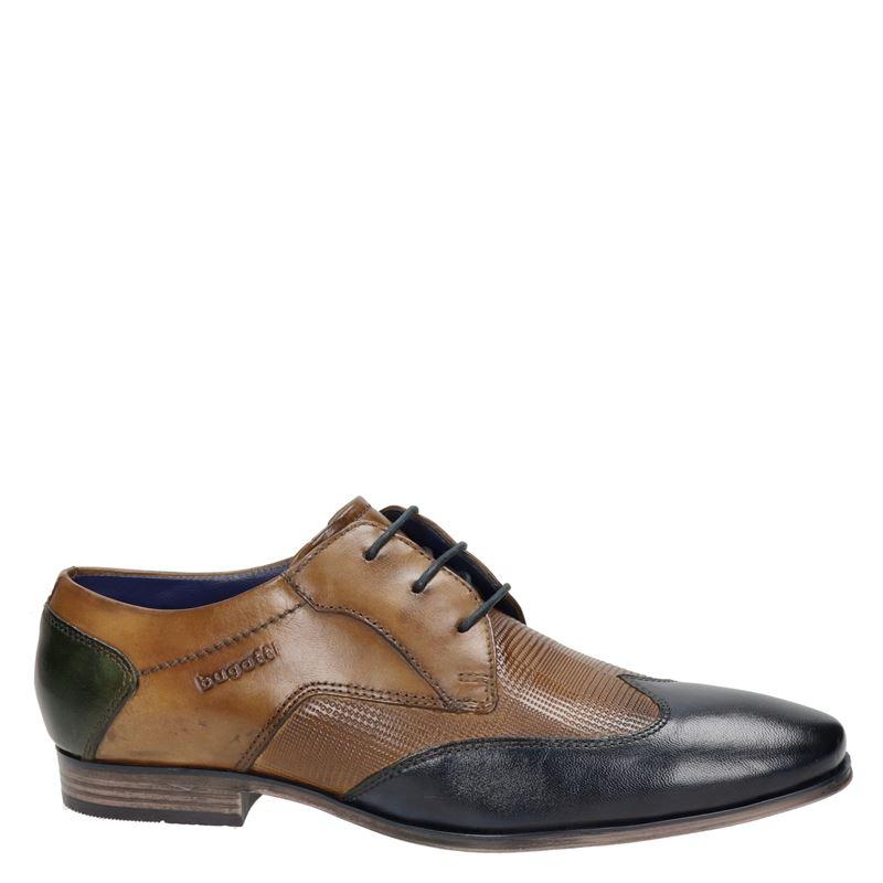 Bugatti - Lage nette schoenen - Cognac