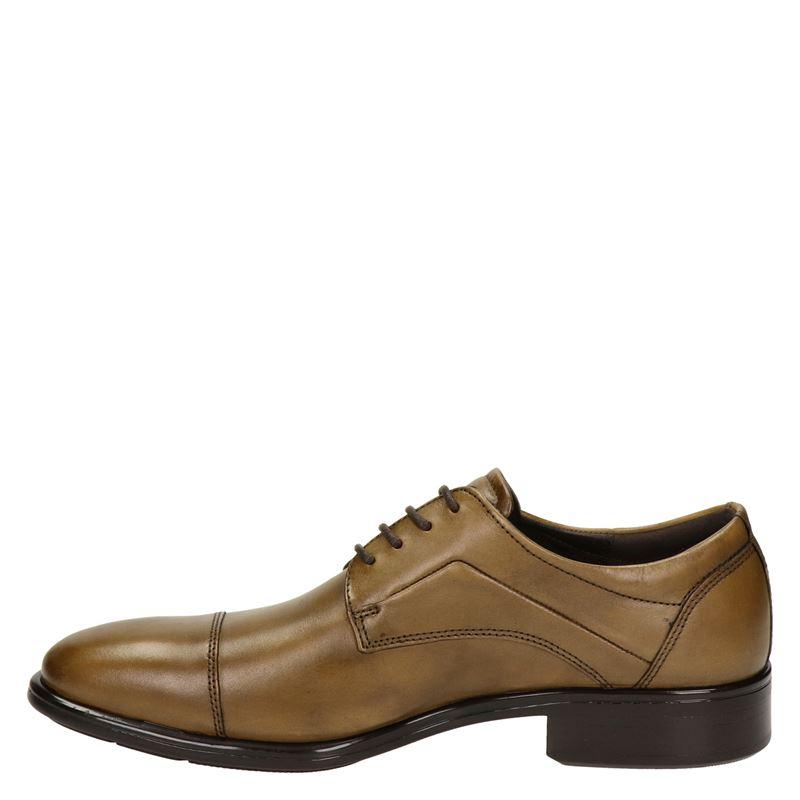 Ecco Citytray - Lage nette schoenen - Cognac