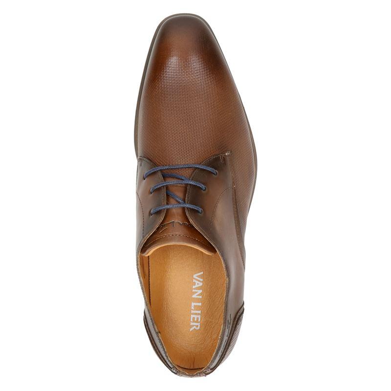 Van Lier 2053604 - Lage nette schoenen - Cognac