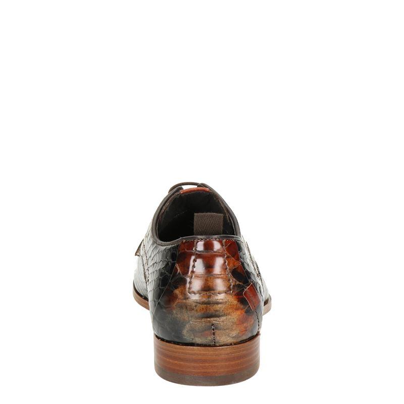 Rehab Greg Snake - Lage nette schoenen - Bruin