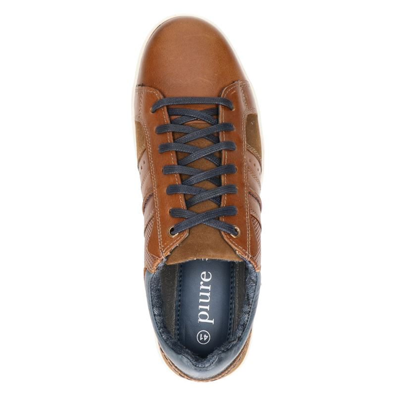 Piure Eddy - Lage sneakers - Bruin