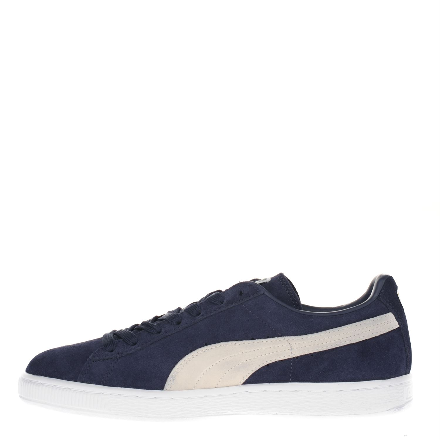 f4be099659c Puma Suede Classic heren lage sneakers blauw