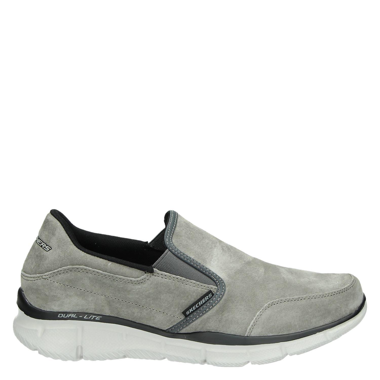 Skechers heren instapschoenen grijs