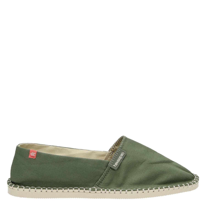 Chaussures Havaianas Vert Pour Les Hommes wTCbN