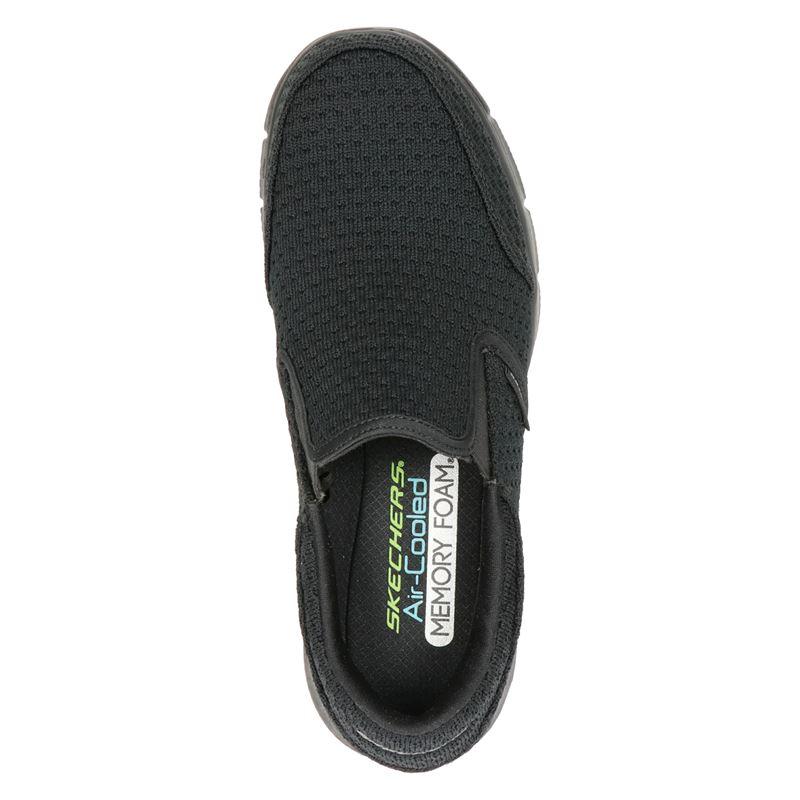 Skechers Equalizer - Instapschoenen - Zwart