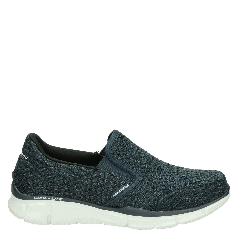Chaussures Skechers Avec Entrée Bleu Pour Les Hommes 2gqHXO3k