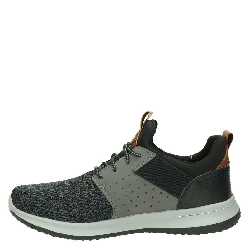 Skechers Delson - Lage sneakers - Grijs