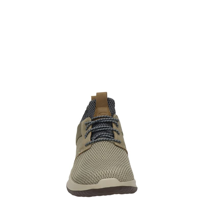 Skechers Delson - Lage sneakers - Taupe
