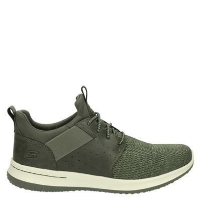 Skechers heren sneakers groen