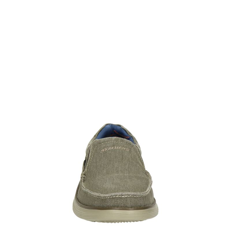 Skechers - Instapschoenen - Beige