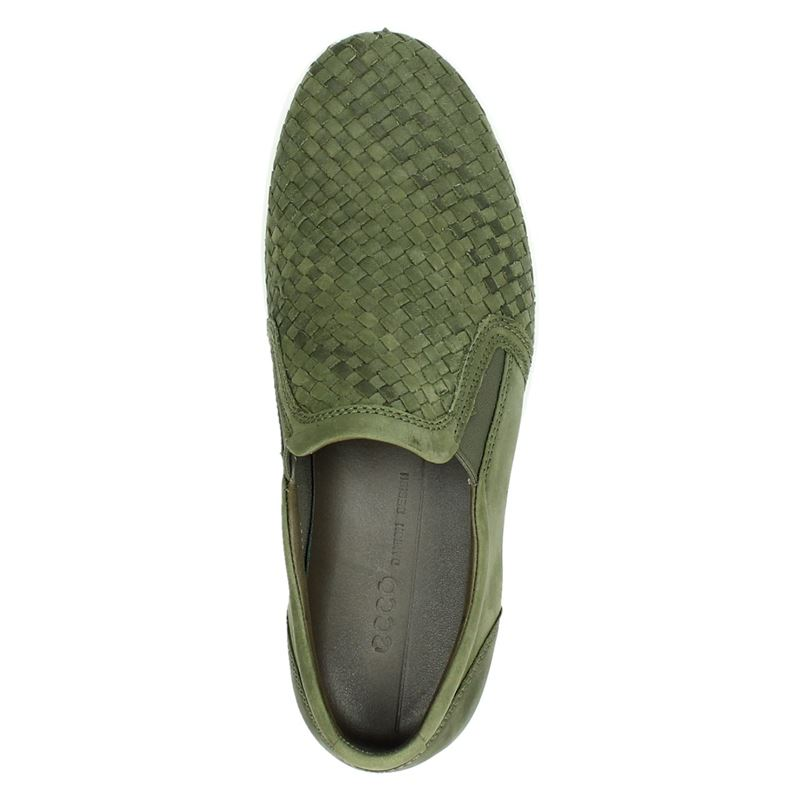 Ecco Soft 7 - Instapschoenen - Groen