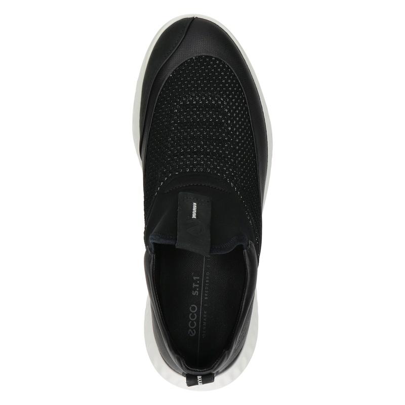 Ecco ST.1 Lite - Instapschoenen - Zwart