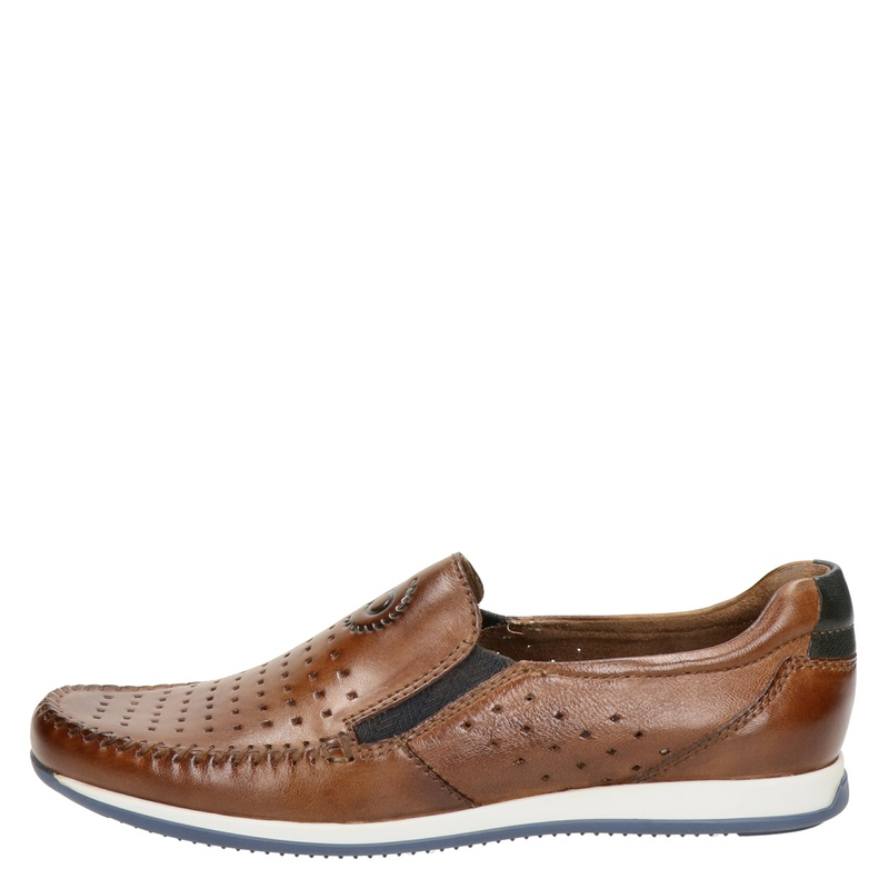Bugatti - Mocassins & loafers - Cognac