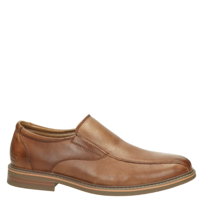 Skechers Bregman - Mocassins & loafers voor heren - Cognac GGQ85DQ
