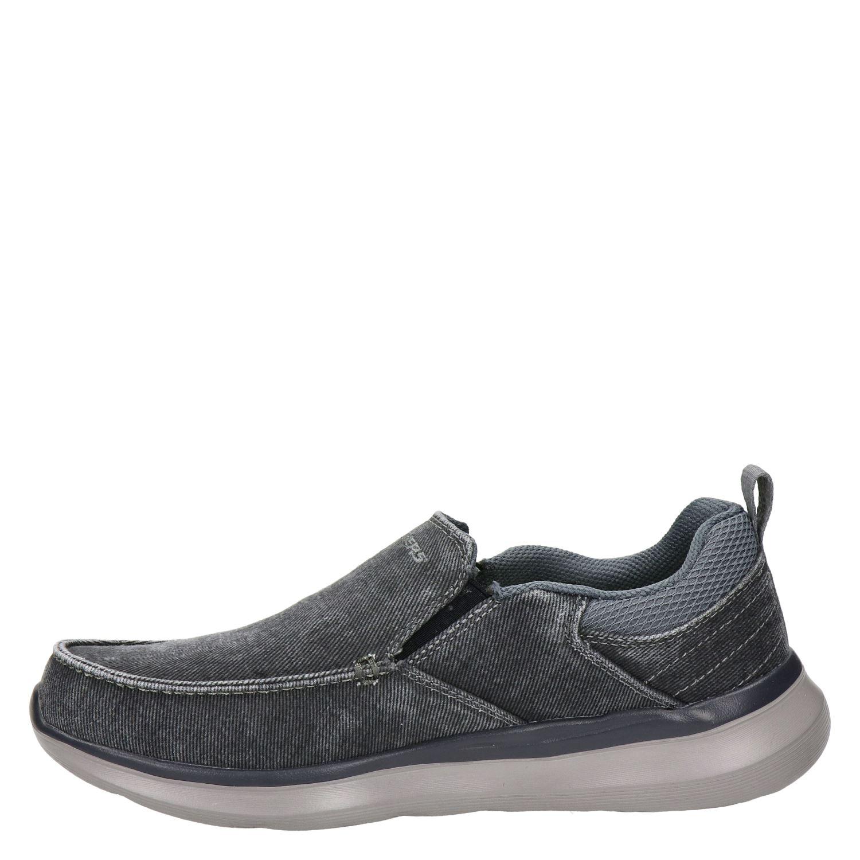Skechers Streetwear - Instapschoenen voor heren - Zwart nY8LX5s