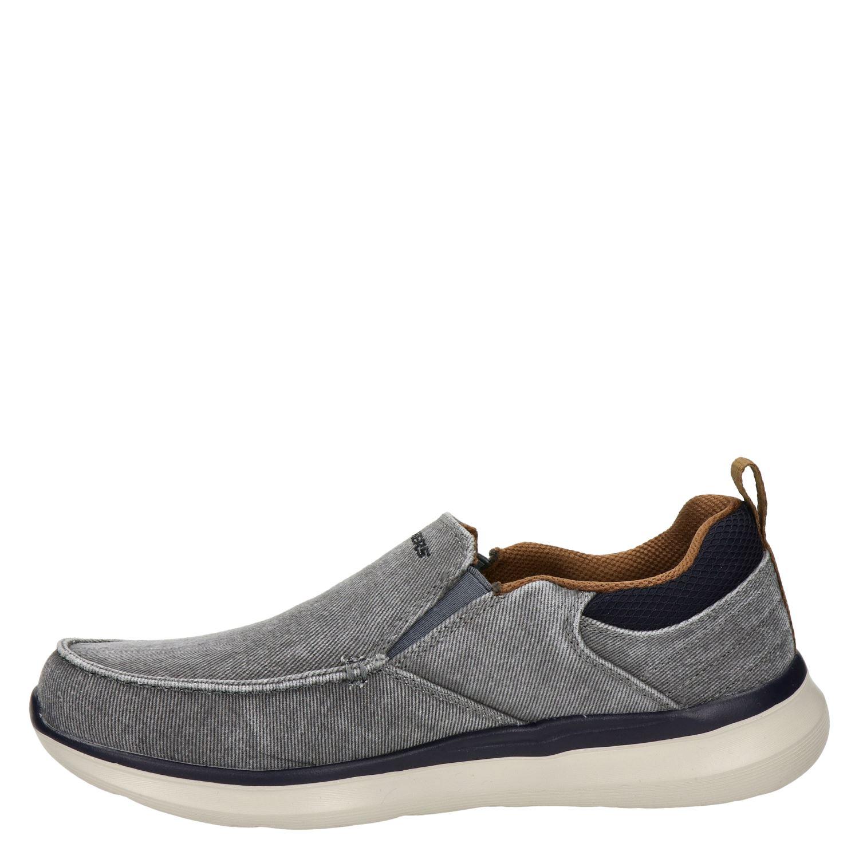Skechers Streetwear - Instapschoenen voor heren - Grijs JqpZzxK