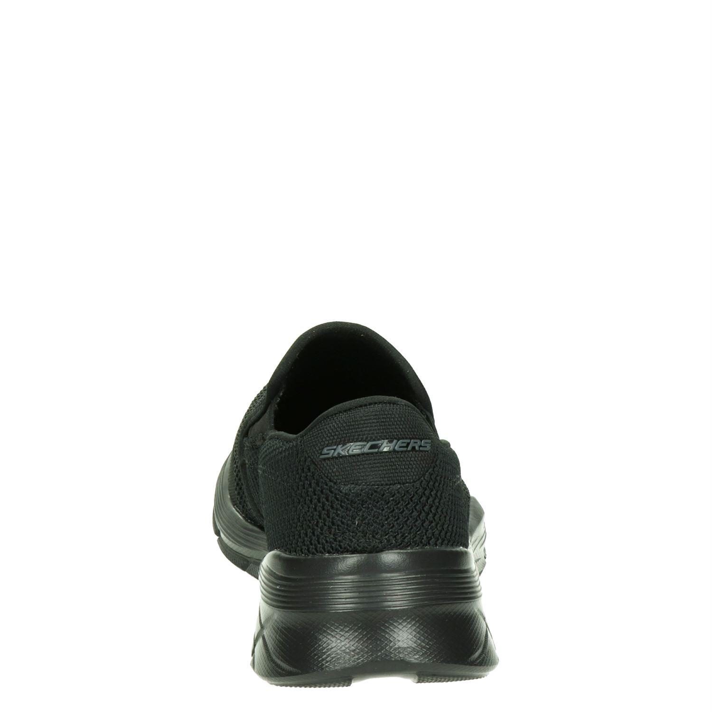 Skechers Equalizer 4.0 - Instapschoenen voor heren - Zwart P1cQnS7