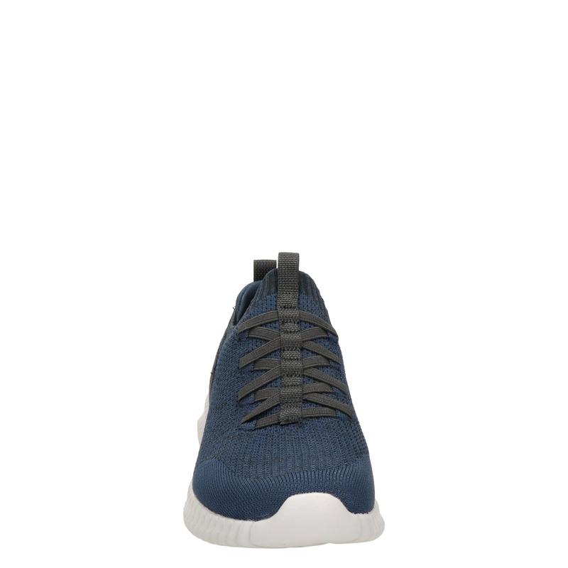 Skechers Elite flex karnell - Lage sneakers - Blauw