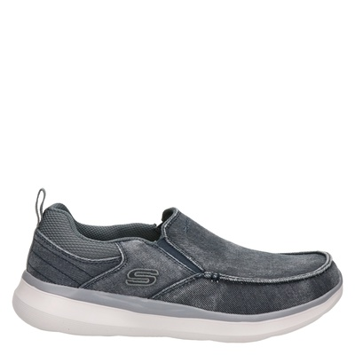 Skechers Delson 2.0 - Mocassins & loafers - Blauw