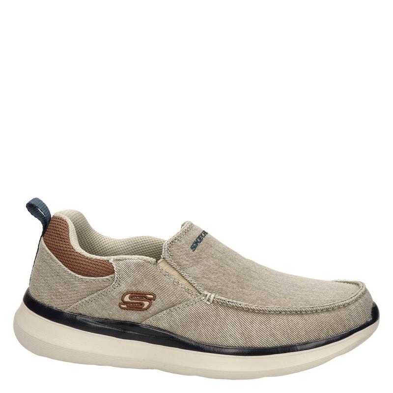 Skechers Delson 2.0 - Mocassins & loafers - Beige