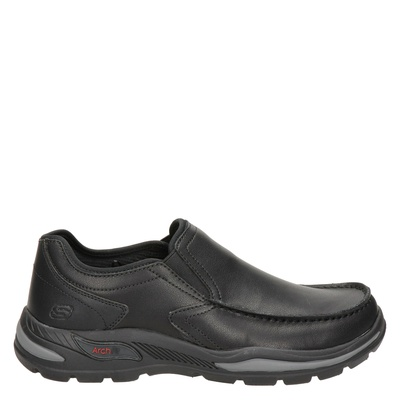 Skechers Arch Fit - Mocassins & loafers - Zwart