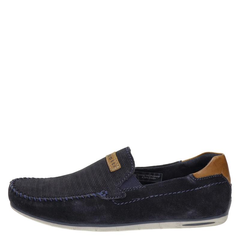 Bugatti - Mocassins & loafers - Blauw