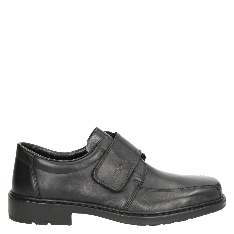 Rieker heren klittenbandschoenen zwart