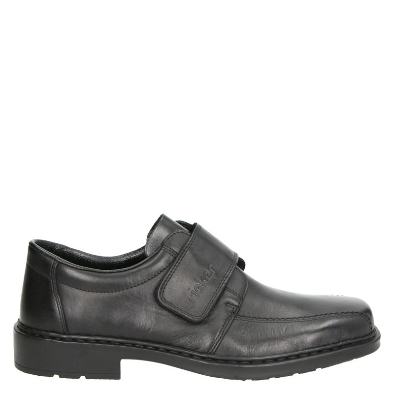 Rieker - Klittenbandschoenen - Zwart