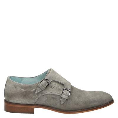 Humberto heren nette schoenen grijs