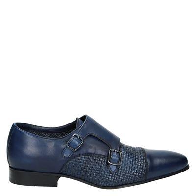 Piure heren nette schoenen blauw