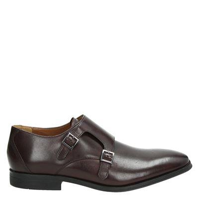 Clarks heren nette schoenen rood