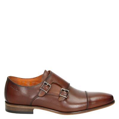 Van Lier heren nette schoenen cognac