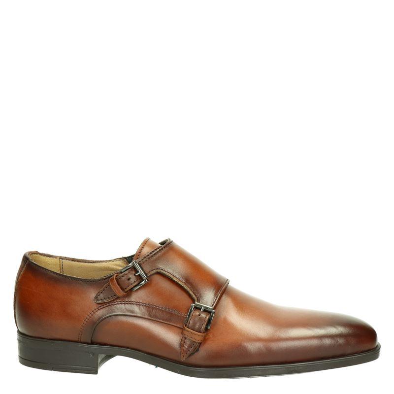 Giorgio - Lage nette schoenen - Cognac