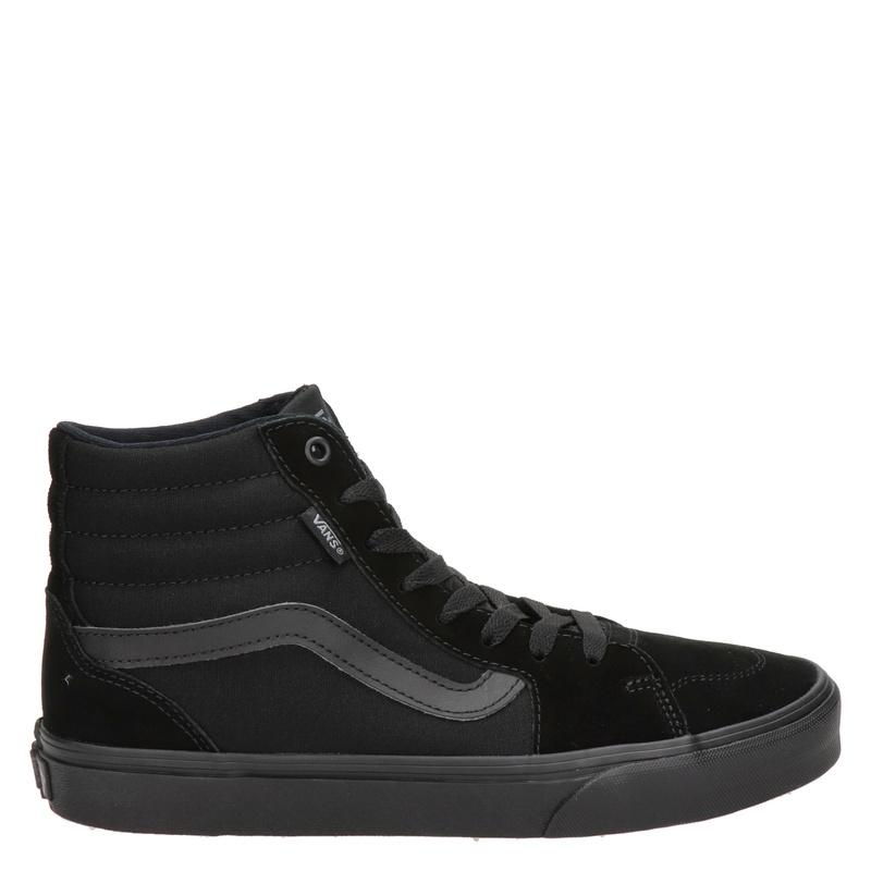 Skechers - Veterboots - Zwart