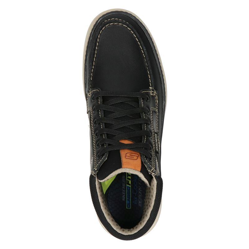 Skechers Moreno Alago - Hoge sneakers - Zwart