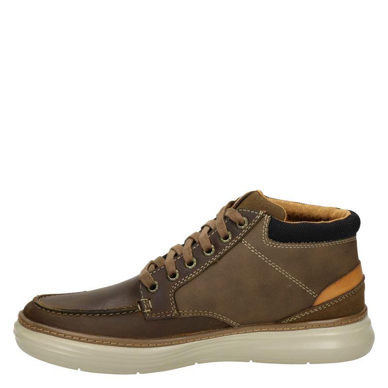Skechers Moreno Alago - Hoge sneakers - Bruin