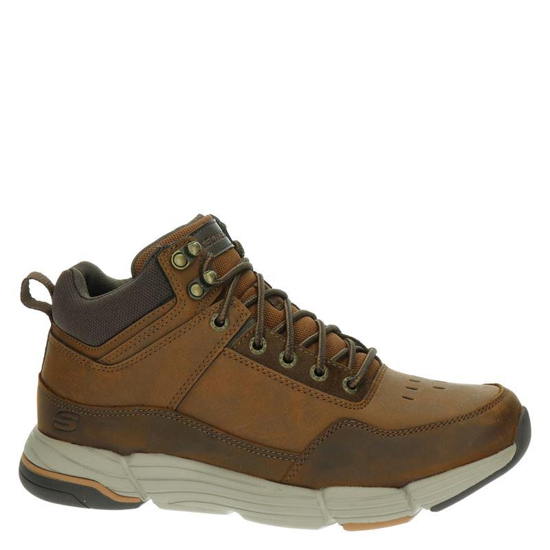 Skechers - Hoge sneakers - Bruin