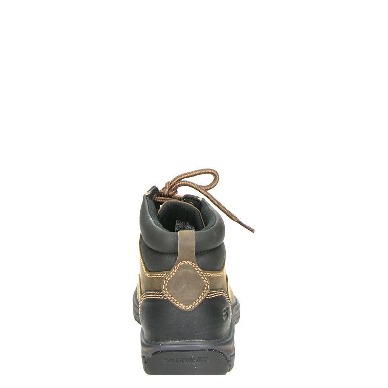 Skechers - Veterboots - Bruin