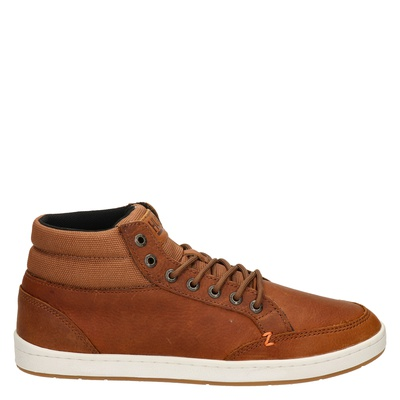 Hub heren sneakers cognac