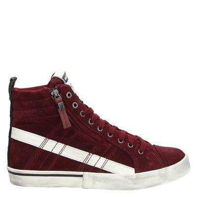 Diesel heren sneakers rood