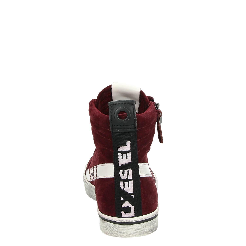 b99f4f5a69b Diesel D-Velows Mid - Hoge sneakers - Rood - Shoemixx.nl