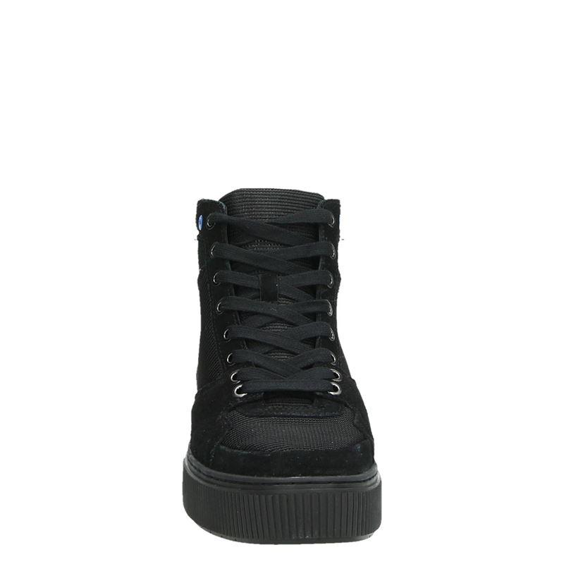 Diesel S-Danny MC II - Hoge sneakers - Zwart