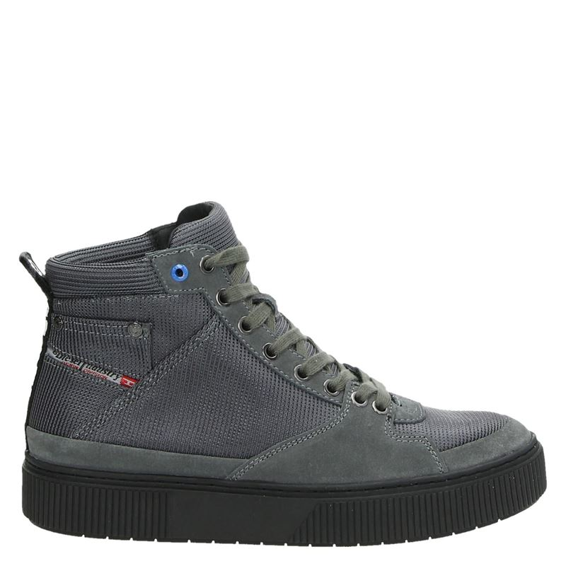 Diesel herensneaker grijs