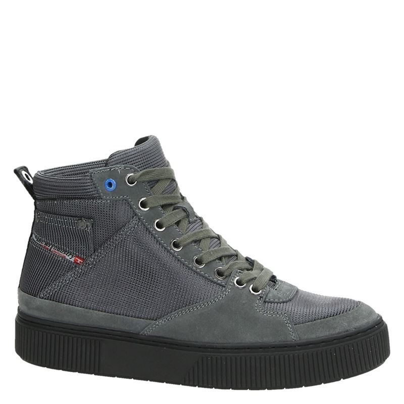 Diesel S-Danny MC II - Hoge sneakers - Grijs